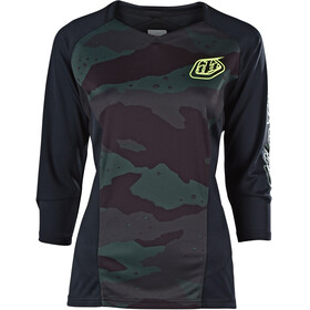 Troy Lee Designs Ruckus Bike Jersey Shortsleeve Women green/black